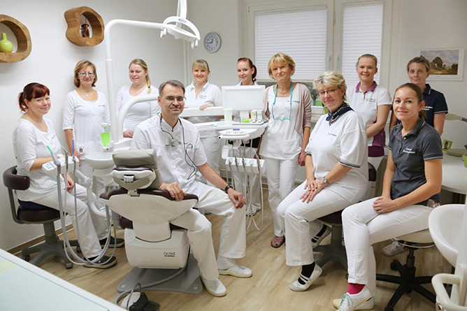 Dental Group Practice Dr. Hamann and Colleagues in Rostock
